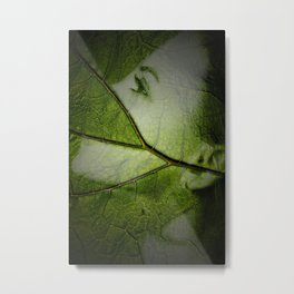 green mood Metal Print