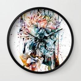 SKULL N-II Wall Clock