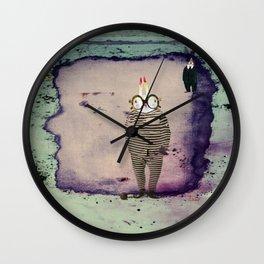 Time Rabbit I Wanna Wall Clock