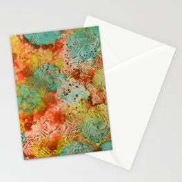 Paprika Drift Ink #7 Stationery Cards
