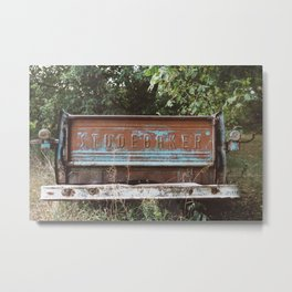 Abandoned Studebaker Metal Print
