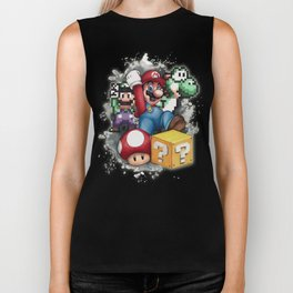 Mario et ses amis Biker Tank
