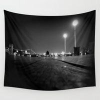 breaking Wall Tapestries featuring Breaking Point by RichCaspian