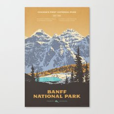 Banff National Park Canvas Print