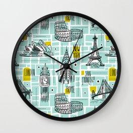 Globetrotter Wall Clock