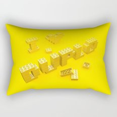 I Love Duplo Rectangular Pillow
