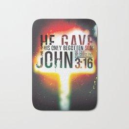 John 3:16 Bath Mat