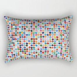 Colossal Polka Daubs Rectangular Pillow