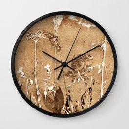 Sienna Sky Ghost Wall Clock
