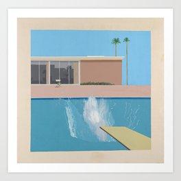 A Bigger Splash - David Hockney, 1967 Art Print