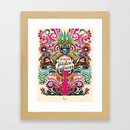 el PODER del JAGUAR Framed Art Print