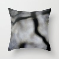 fault Throw Pillows featuring Fault Lines by Sam D.