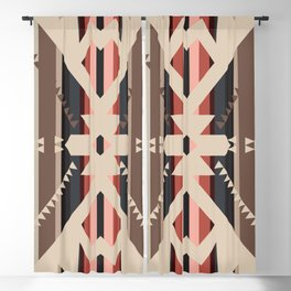 American Native Pattern No. 285 Blackout Curtain
