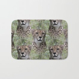 Allover Cheetah Bath Mat
