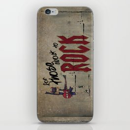 For Those About To Rock iPhone Skin