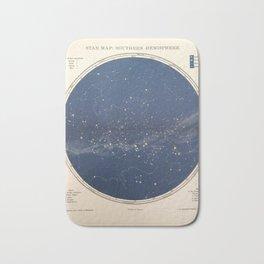 Chambers - Star Map, Southern Hemisphere, 1904 Bath Mat