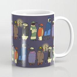 Victorian Penguins Coffee Mug