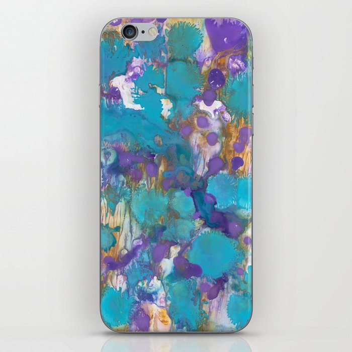 Blue Blossom iPhone Skin