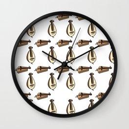 Hurdy Gurdy Wall Clock