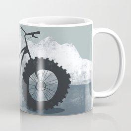 Fat bike in the mountains Coffee Mug