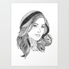 Inked 2 Art Print