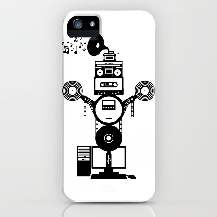 MusicBot iPhone Case