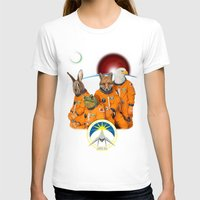 starfox T-shirts featuring STARFOX - The Lylat Space Program by John Medbury (LAZY J Studios)