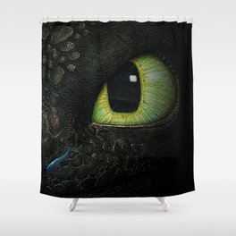 Who's Peeking 2 Shower Curtain