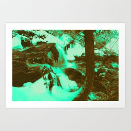 Rager Art Print