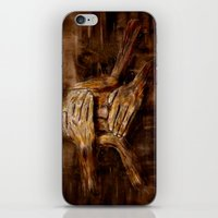 psychology iPhone & iPod Skins featuring No see - No hear - No speak ! Nothing ! by teddynash