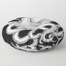 Octopus Tentacles Kraken Ink Nautical Beach  Floor Pillow