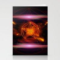 pentagram Stationery Cards featuring Pentagram  by nicky2342