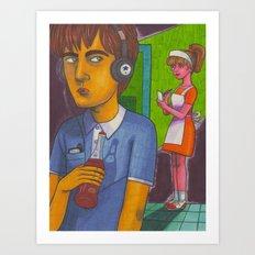Johnny Delusional Art Print