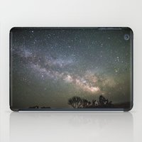 milky way iPad Cases featuring Milky Way by Laura Stanford