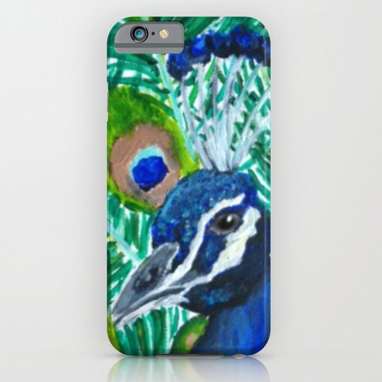 Peacock iPhone & iPod Case