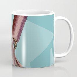 Giant Squid Star Geometric Under The Sea Cottage Colorful Coffee Mug