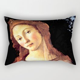 "Sandro Botticelli ""Primavera"" detail Rectangular Pillow"