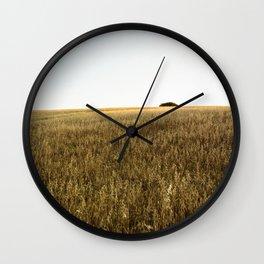 Ocaso en el Campo Wall Clock