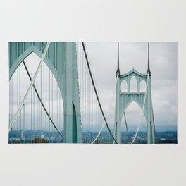 The beautiful St. John's Bridge Rug