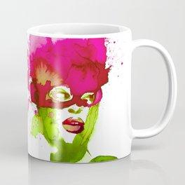 Fleur masquée Coffee Mug