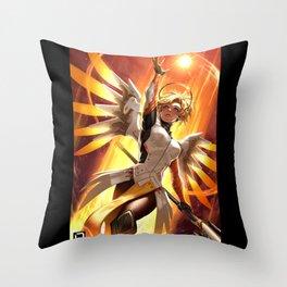 mercy watch Throw Pillow