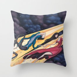 Gravity's Union Throw Pillow