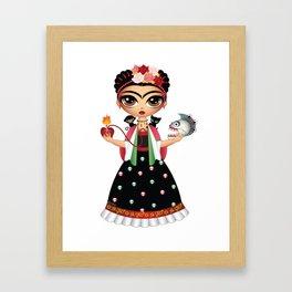 Little Frida Framed Art Print