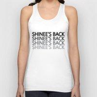 shinee Tank Tops featuring SHINee's Back Dark by Noctambulous Designs