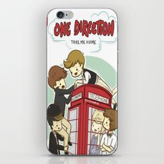 Take Me Home Cartoon One Direction iPhone Skin