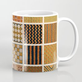 Egyptian Patterns, Vintage Design Coffee Mug