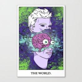 The World Tarot Canvas Print