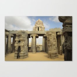 Temple-India Canvas Print