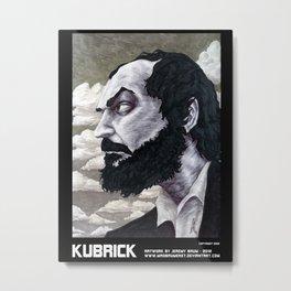 Kubrick Metal Print