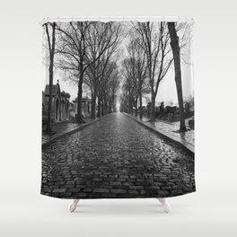 Pere Lachaise Shower Curtain
